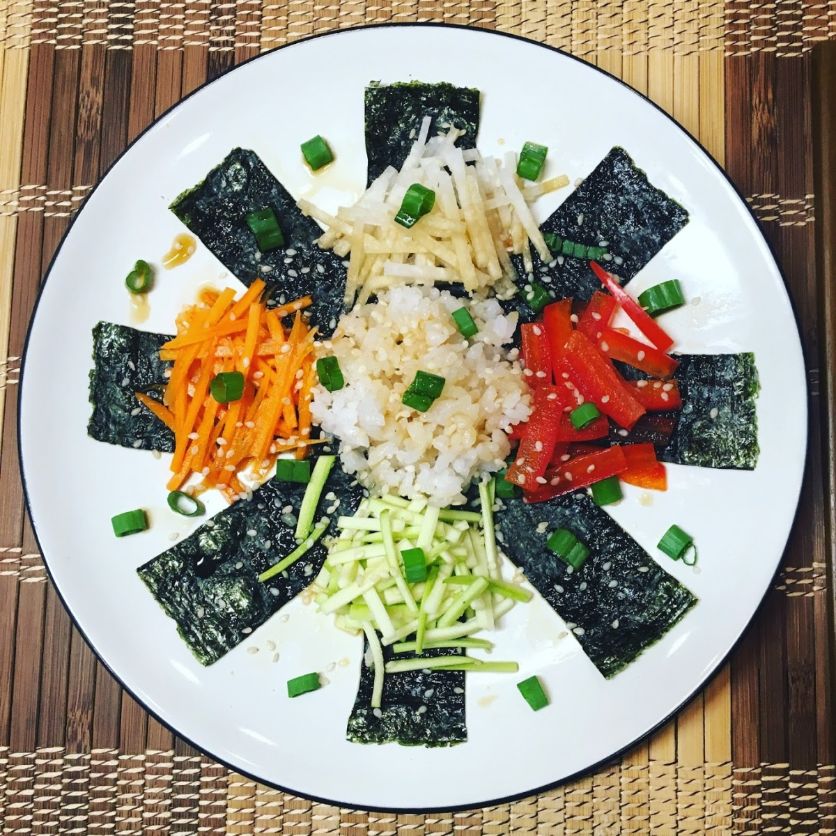 Vegan Sushi Salad