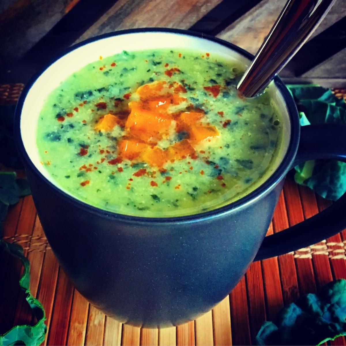 Creamy Kale & Parsnip Soup